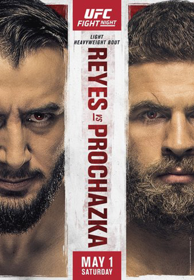 UFC Fight Night: Рейес - Прохазка