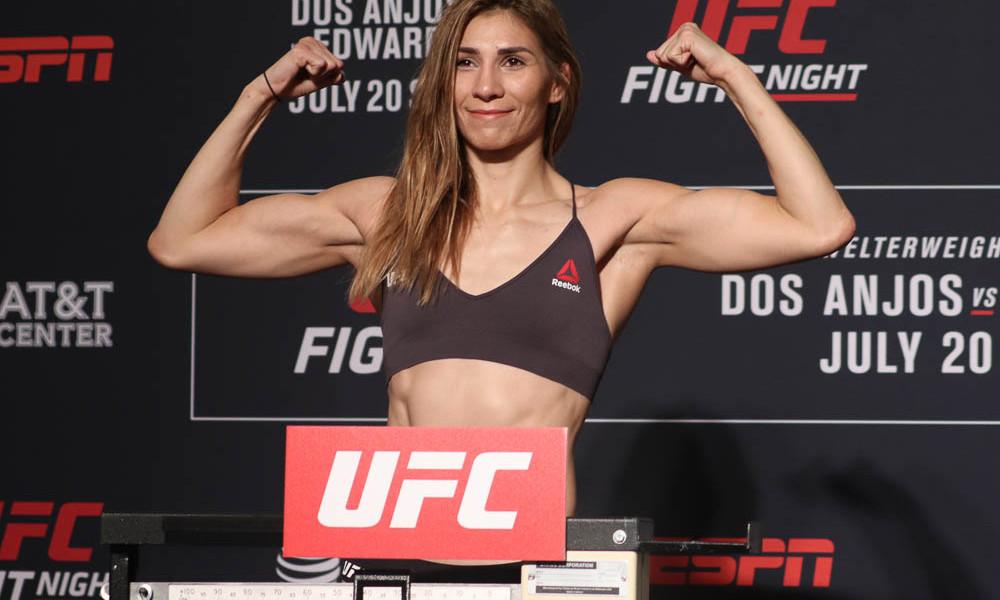 Ирен Алдана. Карьера в UFC
