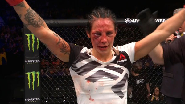 Лина Лансберг На UFC Fight Night 107 Манува - Андерсон