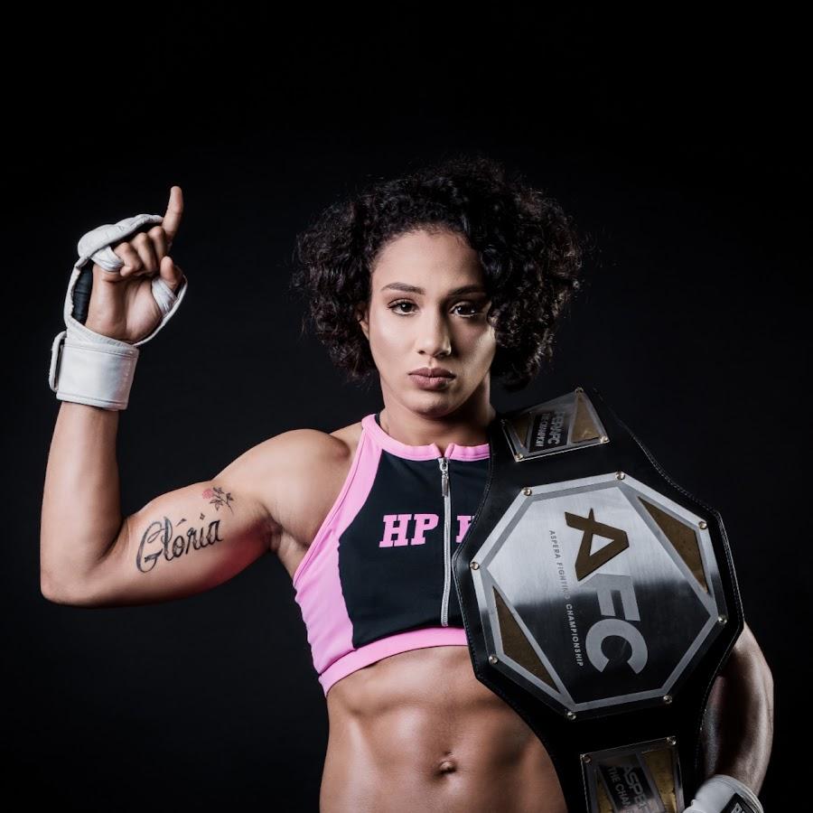 Тайла Сантос - обладательница пояса AFC