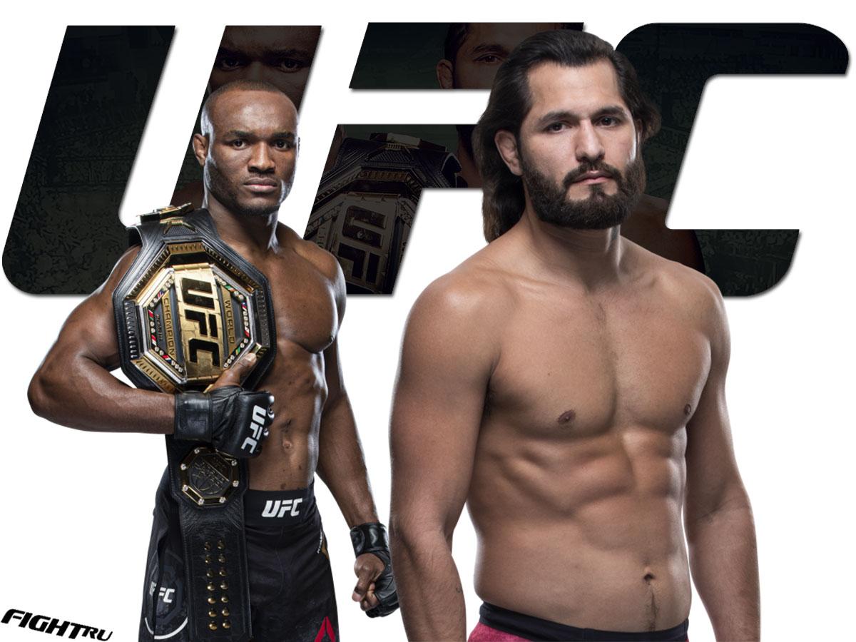 UFC 261 Камару Усман — Хорхе Масвидал