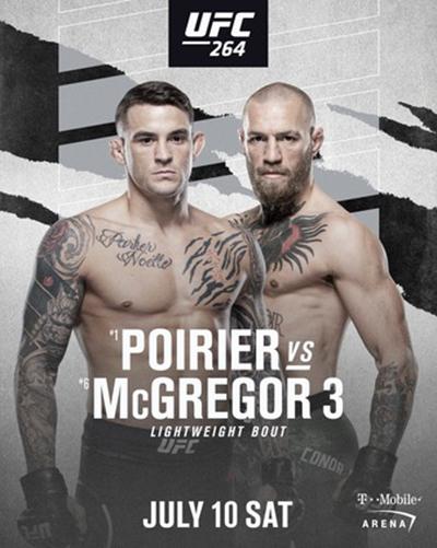 UFC 264: Порье vs. МакГрегор 3