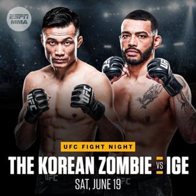 UFC Fight Night: Корейский Зомби vs. Иге