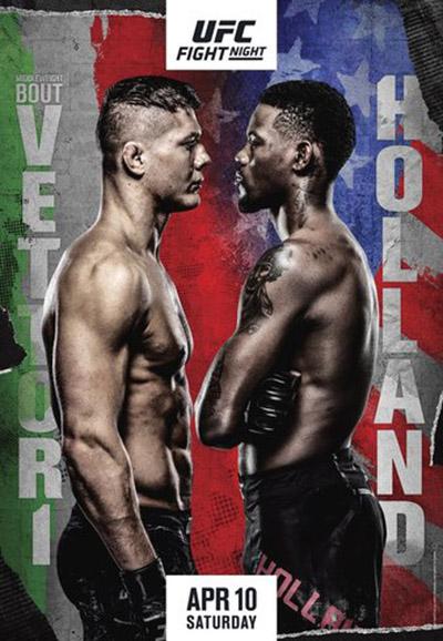 UFC Fight Night: Веттори - Холланд
