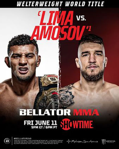 Bellator 260: Лима vs. Амосов
