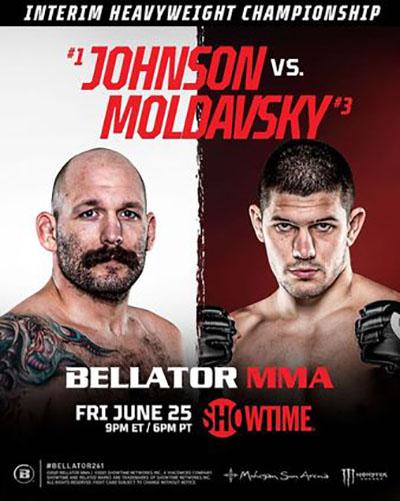Bellator 261: Джонсон vs. Молдавский