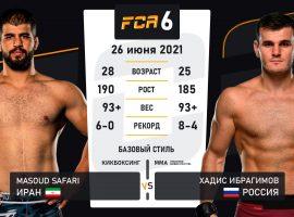 Бывший боец UFC Хадис Ибрагимов возвращается в октагон и сразится с непобеждённым иранцем