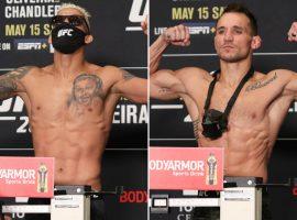Пояс на кону! Результаты взвешивания UFC 262