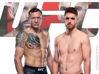 Джек Херманссон — Эдмен Шахбазян, на UFC Fight Night 188. Прогноз и ставка на бой