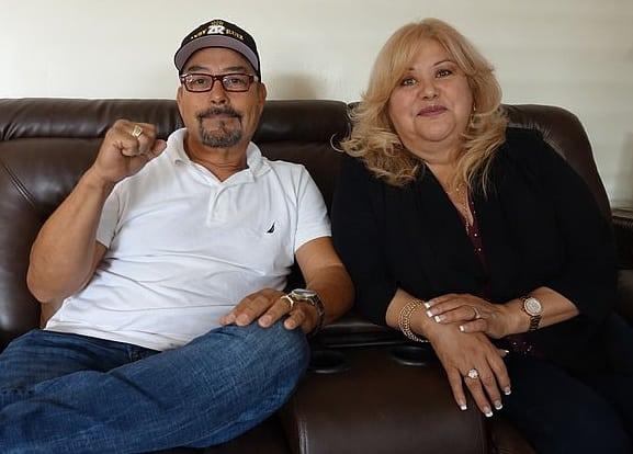 Отец и мать Энди Руиса