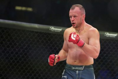 Российский боец MMA Александр Шлеменко