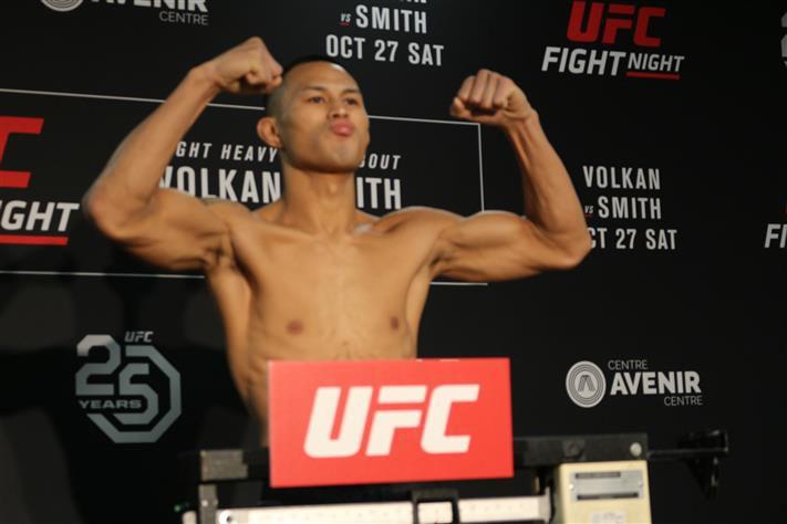 Су Мудаэржи в UFC
