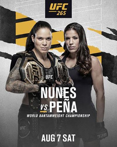 UFC 265: Нуньес против Пенья