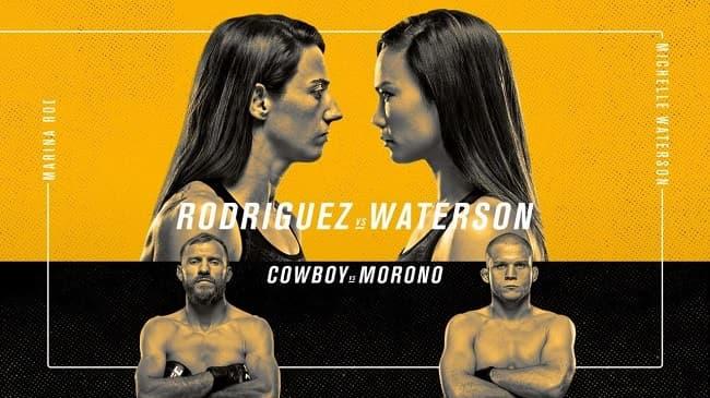 Хайлайты турнира UFC Fight Night: Родригес vs. Уотерсон