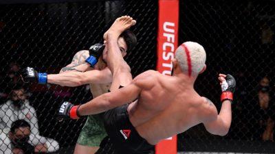 Дейвесон Фигейредо: «Я выиграл прошлый бой, выиграю и этот. Я вырублю Морено»
