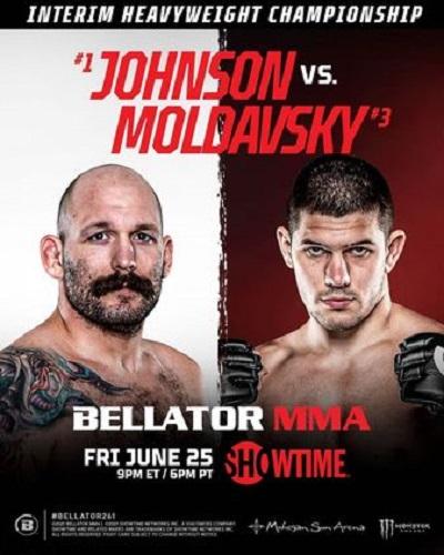 Bellator 261 Джонсон - Молдавский