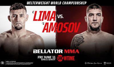 Дуглас Лима — Ярослав Амосов прогноз и ставка на бой Bellator 260