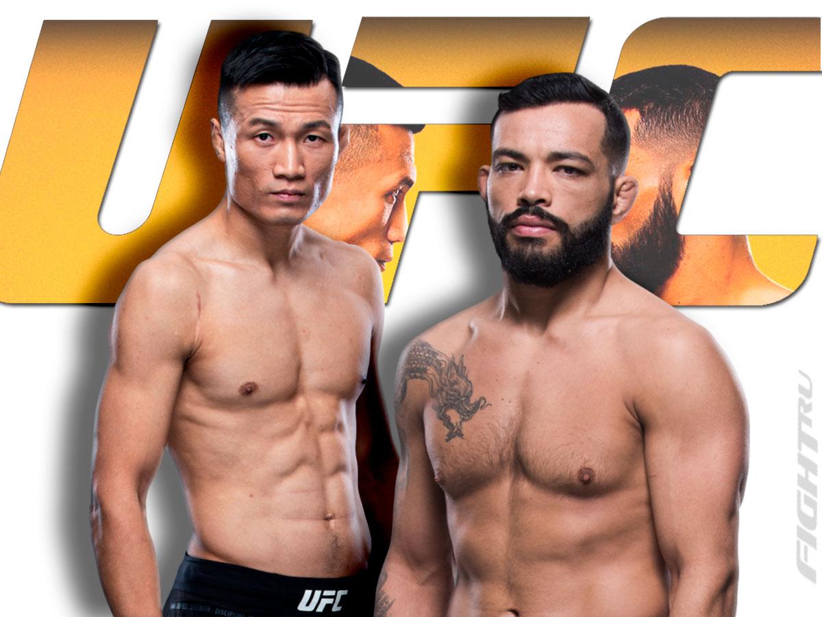 Чон Чхан Сон — Дэн Иге: прогноз и ставка на главный бой UFC on ESPN 25