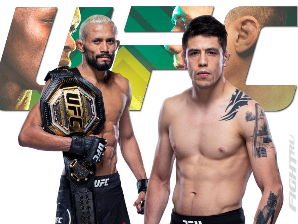 UFC 263 Fight Card