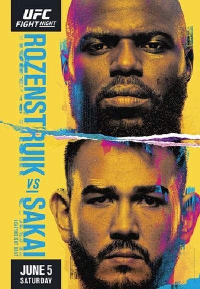 UFC Fight Night: Розенструйк - Сакаи